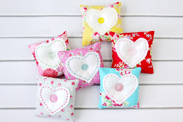 Cute Fabric Sachets