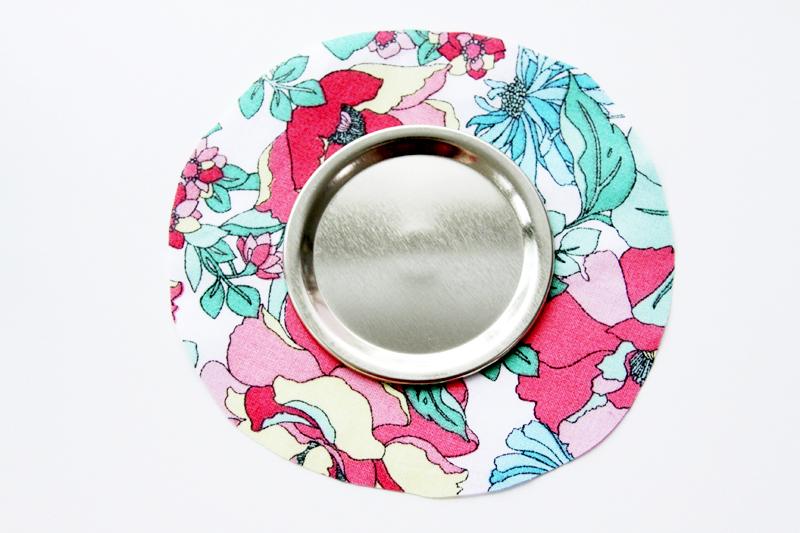 Fabric for Mason Jar Pincushion