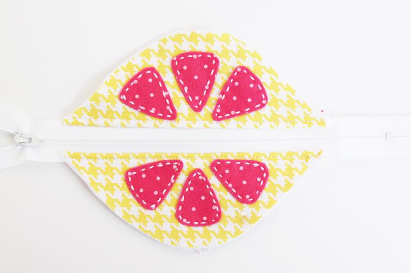 front-of-lemon-zipper-pouch