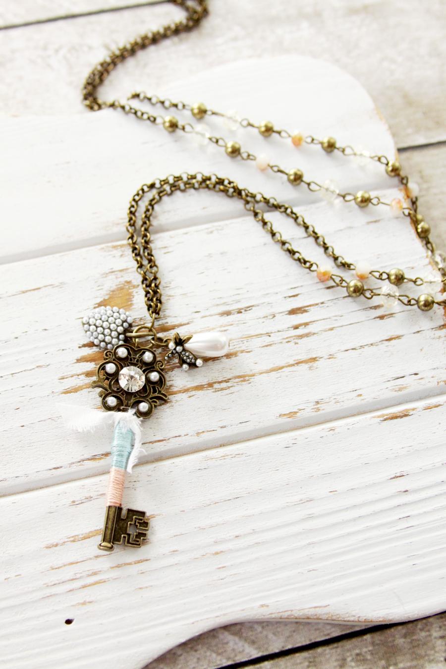 Easy DIY Vintage Style Jewelry Set
