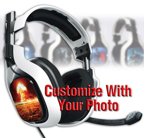 Custom Speaker Tag Decals A40 Astro FlamingToast