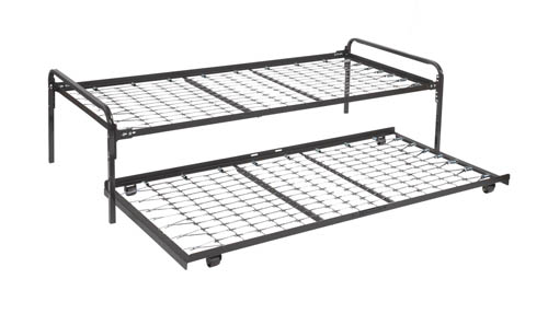 Heavy Duty Metal Frames For Support Of Mattress And Box With Headboard Attachment Brackets Twin Frame