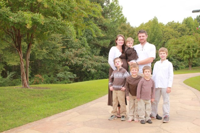 Five grandsons plus one on the way!