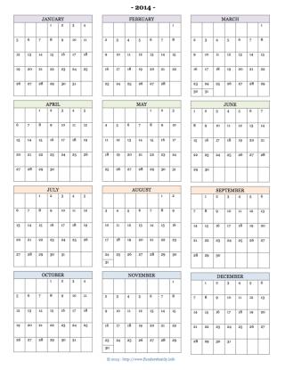 Printable 2014 Calendars Flanders Family Homelife