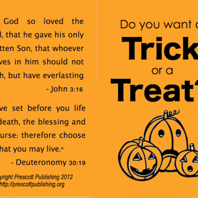 Do You Want a Trick or a Treat?