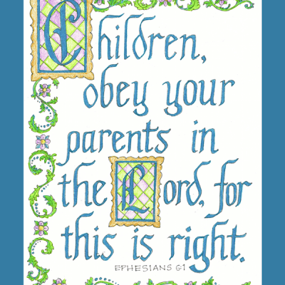 Calligraphy Coloring Pages