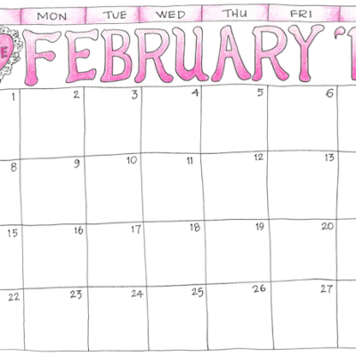 Free 2015 Scrapbooking Calendar