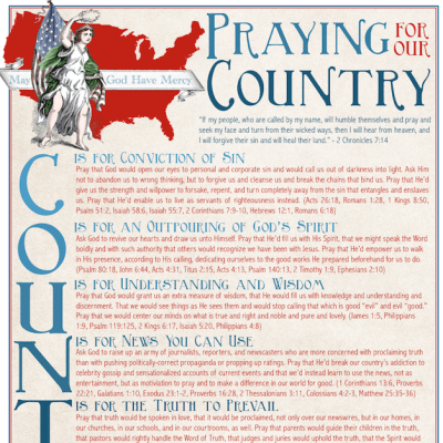 A Prayer for My Country