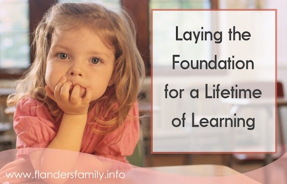 Laying the Foundation for a Lifetime of Learning