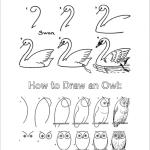 How to Draw Birds (Free Printable Tutorials)