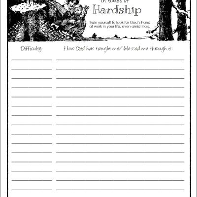 Giving Thanks during Hardship