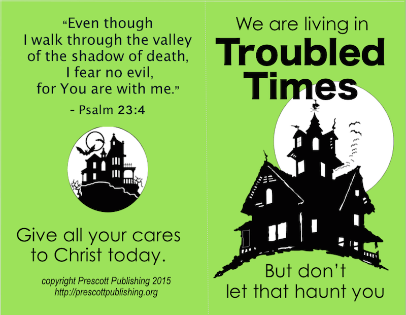 Free printable Halloween tracts  - share the Word of God with trick-or-treaters