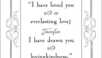 everlasting love coloring page - Love Coloring Pictures