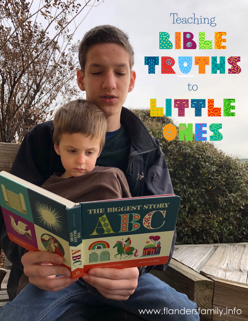 Biggest Story ABC - Teaching Truth to Little Ones