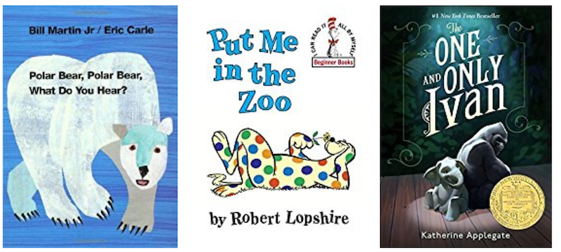 Books about Zoo animals