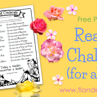 Reading Challenge for All Ages (Free Printable)