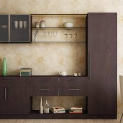 Showcase Designs Living Room Wall Mounted Coastal Style Furniture Crokery Unit