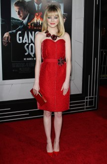 Emma Stone Red Dress