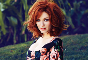 May Cover Girl Christina Hendricks Opens Up 2013  FLARE