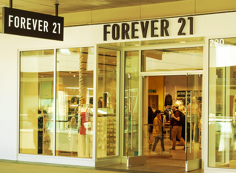 An image of a Forever 21 store