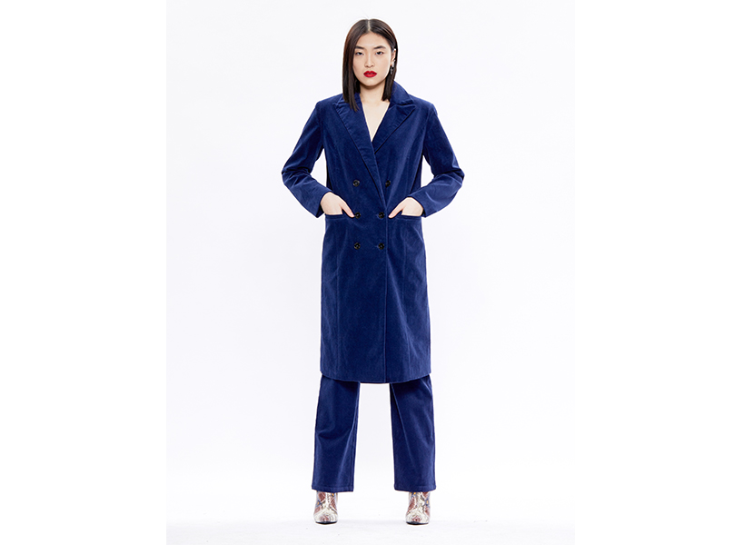 Hilary MacMillan corduroy blazer and pants