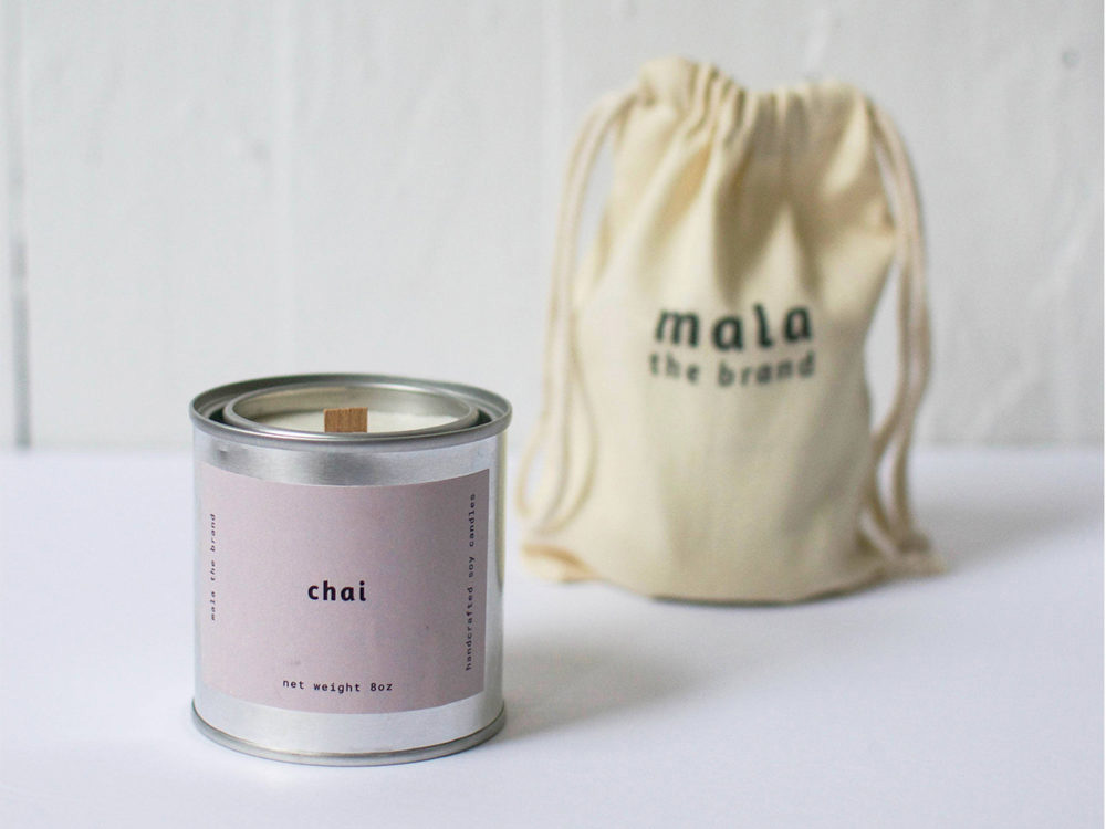 best fall scented candles: mala the brand
