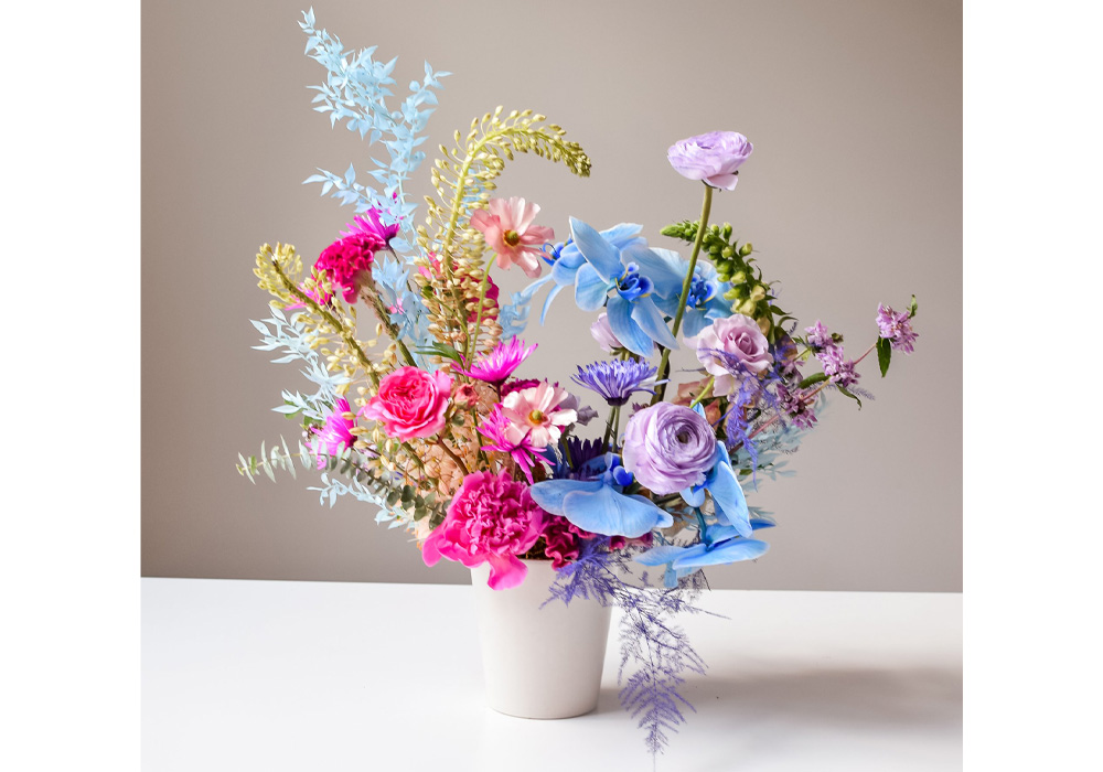 home office upgrades: flower subscription service