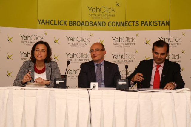 YahClick Launches Pakistan's First Ka-band Satellite Broadband Service