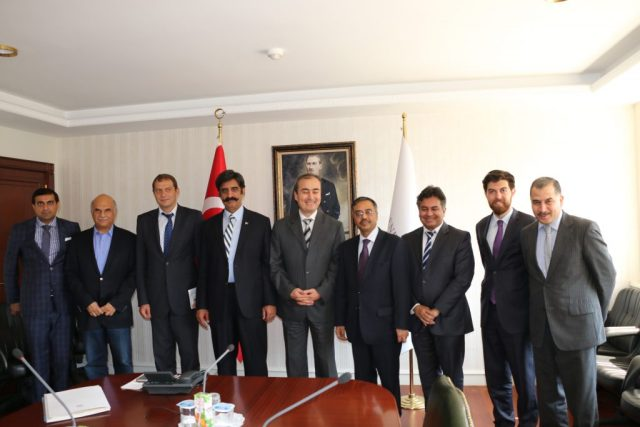 Pakistan and Turkish delegations