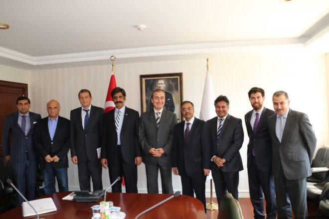 Pakistan and Turkish delegations