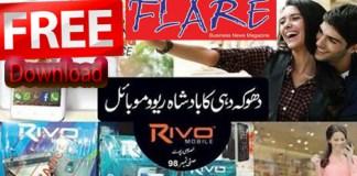 Flare Magazine September 2015