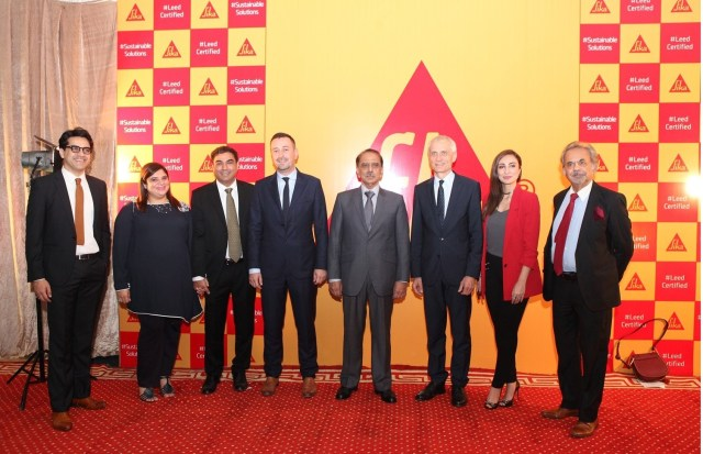 SIKA LAUNCHES PAKISTAN'S FIRST EVER LEED CERTIFIED