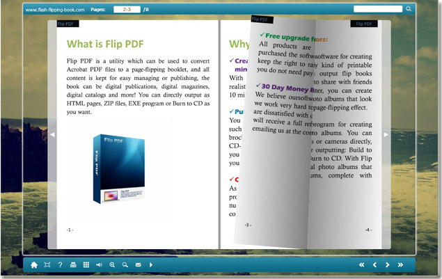 free flipping book creator