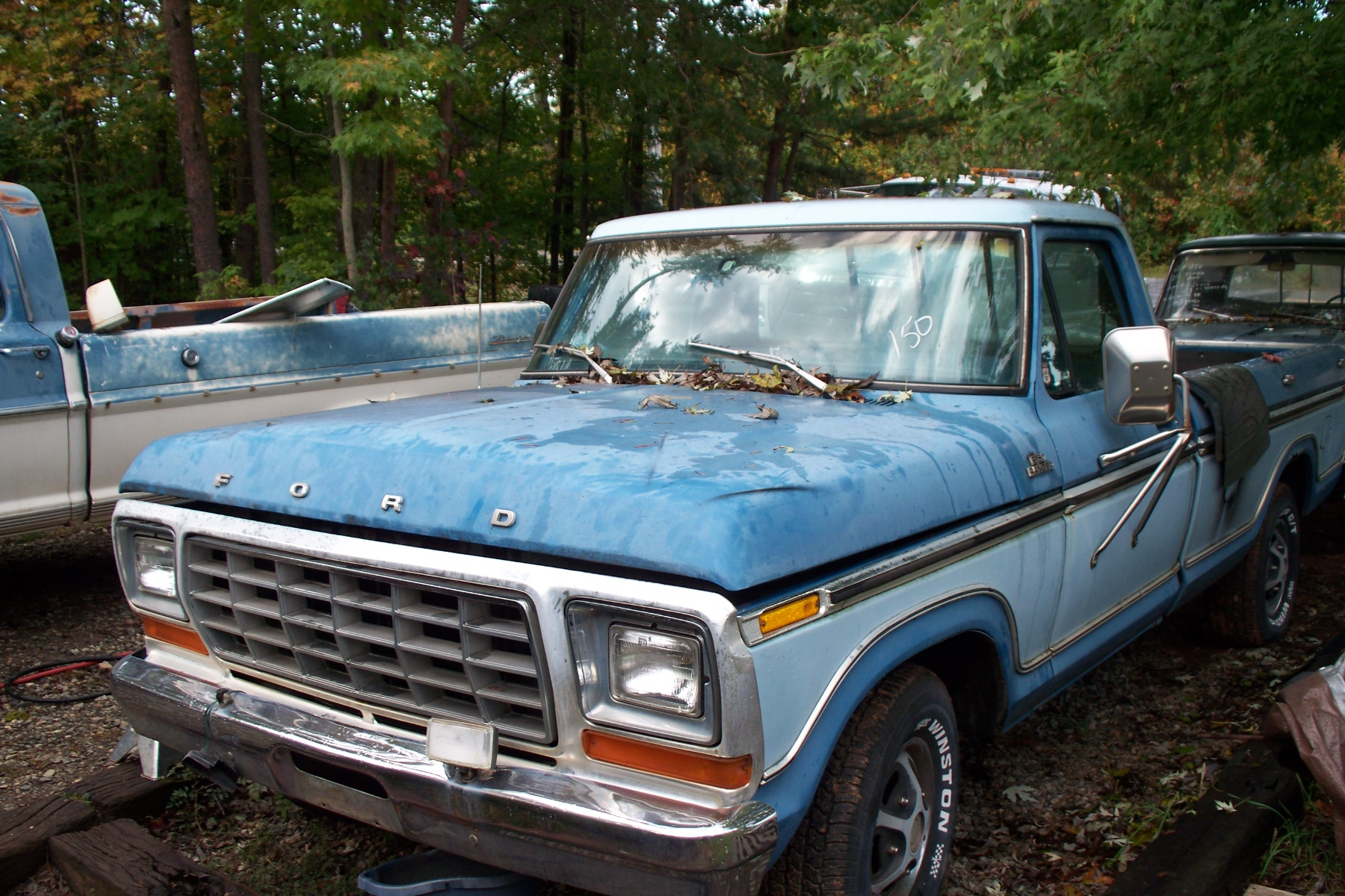 hight resolution of 1977 f 150 automatic p s 302 sheet metal is fair in places