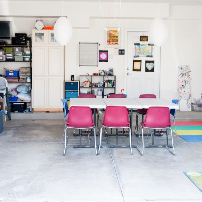 How to Transform Your Garage Into An Awesome Art Space