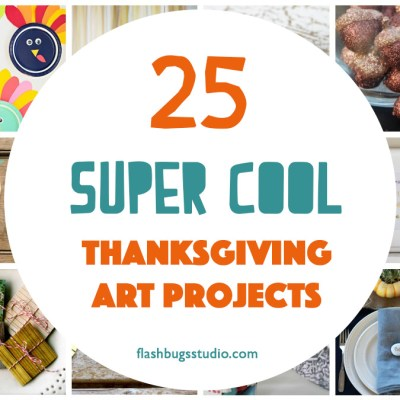 25 Super Cool Thanksgiving Art Projects for Families