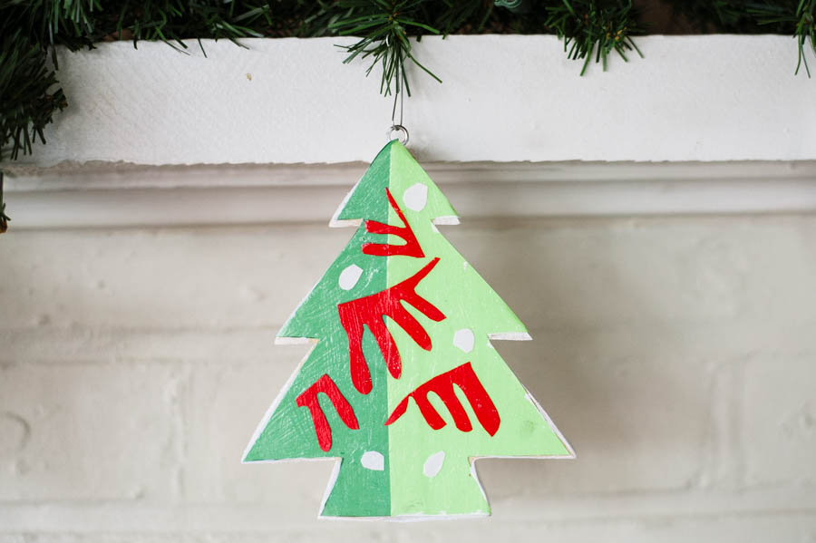 How to Make A Matisse Kid-Made Ornament