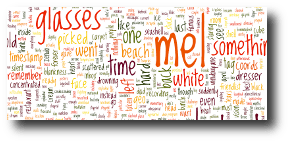 """I glanceblinked the definition of """"Zendo:"""" a hall for meditation. Artwork: This is a Wordle created from the text of the story. Create your own at ."""