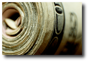 And in seeking his lone five-dollar bill, that he might return the stranger's hospitality, he did display the four-hundred-dollar roll. Artwork: This photo comes from and is used under a Creative Commons Attribution license.