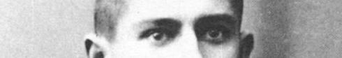 The eyes of Franz Kafka