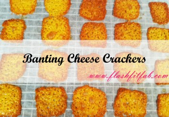 Crispy Banting Cheese Crackers