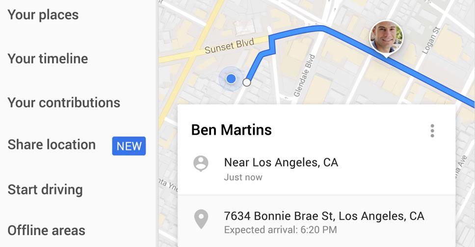 Google-Maps-Share-Location