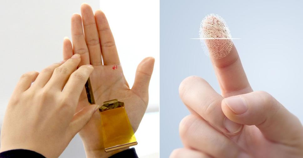 CrucialTec- transparent-fingerprint-sensor