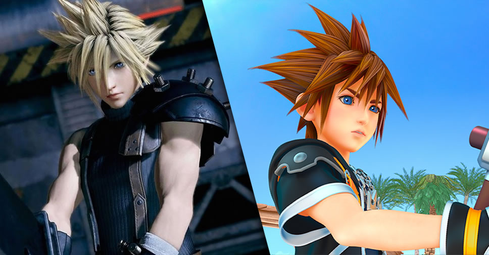 Final-Fantasy-VII-Remake-and-Kingdom-Hearts-III