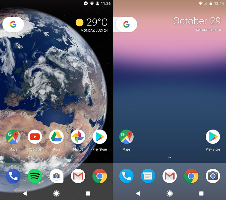 android-o-home-screen