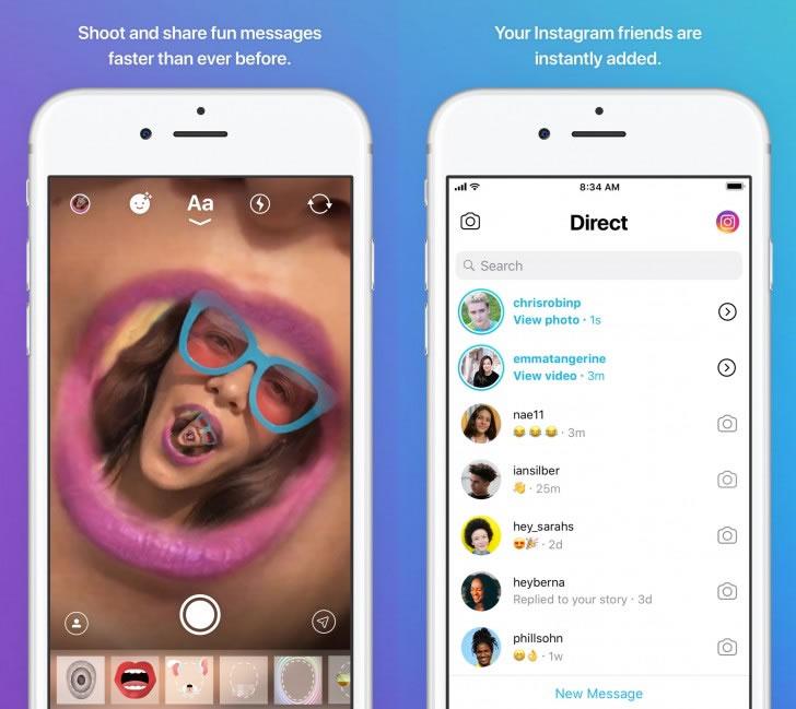 Instagram-Direct-App