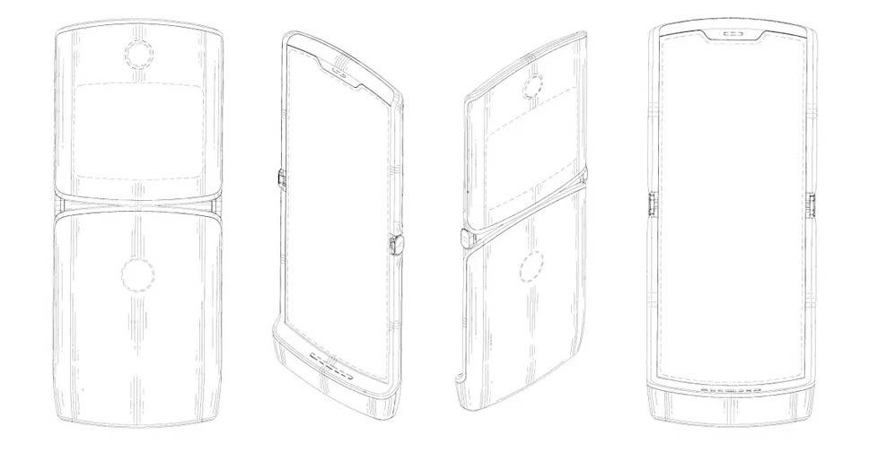 เผยดีไซน์ Motorola RAZR 2019 จากภาพร่างในสิทธิบัตร ยืนยัน
