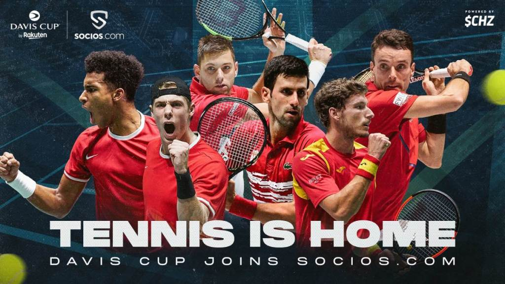 Crypto-Tennis: Davis Cup Organisers Team Up With Blockchain Provider Chiliz to Launch Fan Tokens