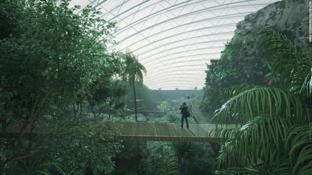 Designs unveiled for the world's largest single-domed greenhouse