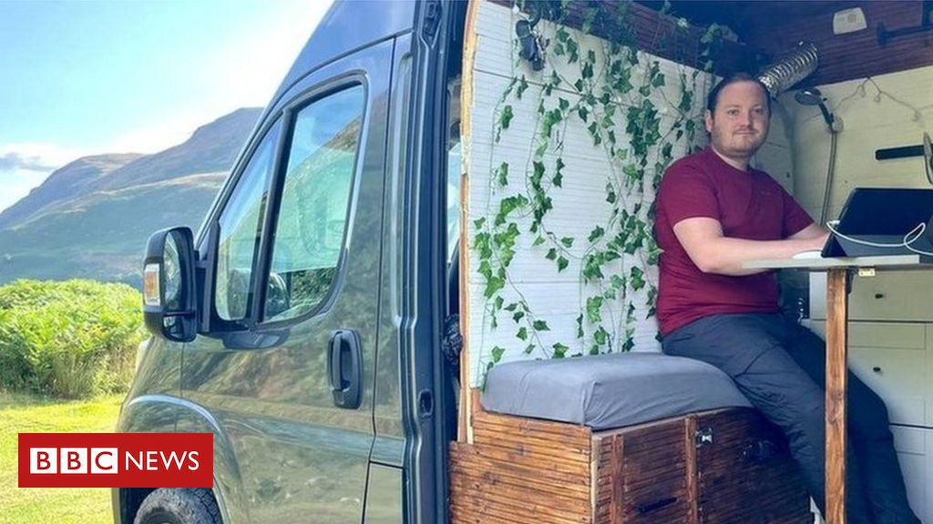 'I run my business from my pimped-up camper van'